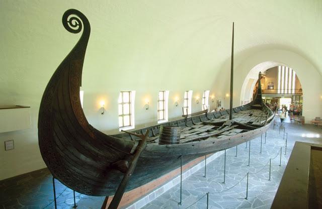 łódka wikinków