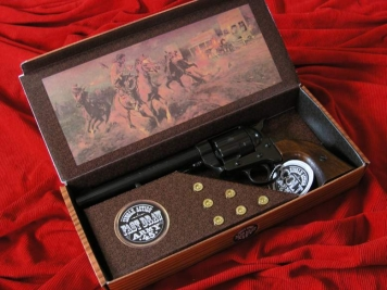 COLT PEACE MAKER 1873r SINGLE ACTION ARMY CAL 45 czarny drewno (k1064-1W)