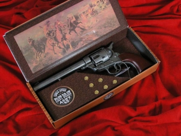 COLT PEACE MAKER Z 1873 ROKU SINGLE ACTION ARMY CAL 45 METALIK (k1064-1P)