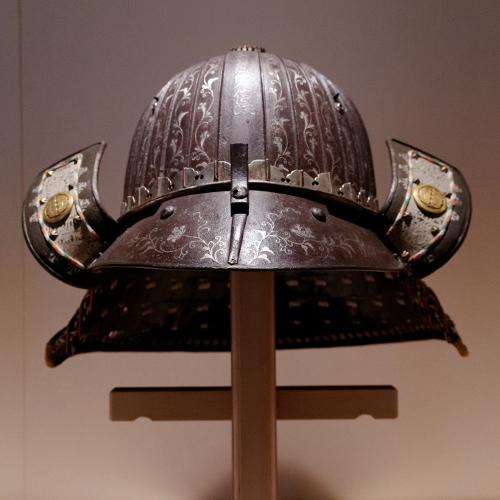 hełm samurajski